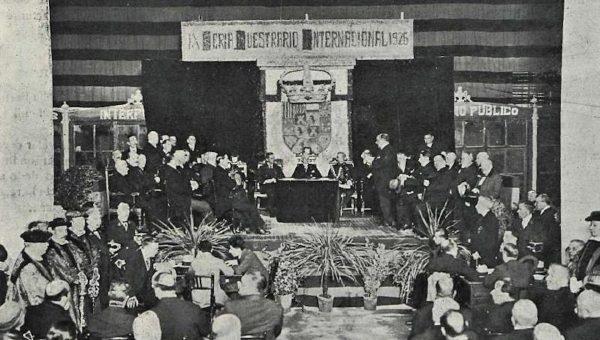 1926. Inauguración