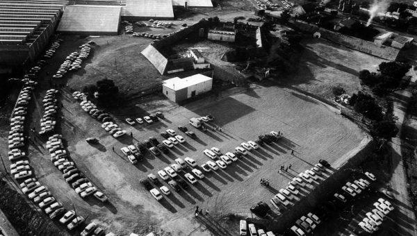 1973. Antiguo polvorín junto pabellones feriales